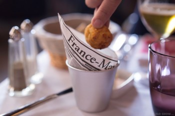 Restaurant review - Bistrot Gavroche in Chippendale - small gougeres www.TheFloShow.com