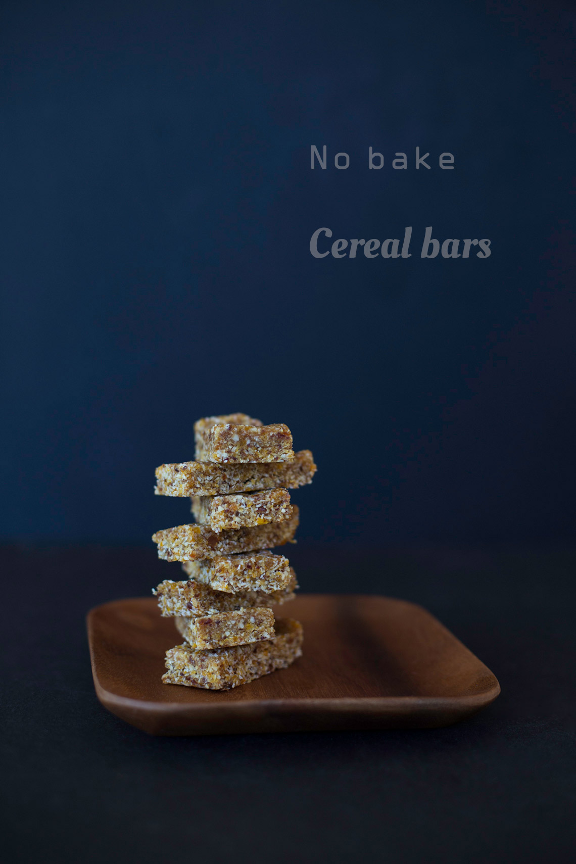 Easy no bake cereal bars - a wonderful snack on www.TheFloShow.com