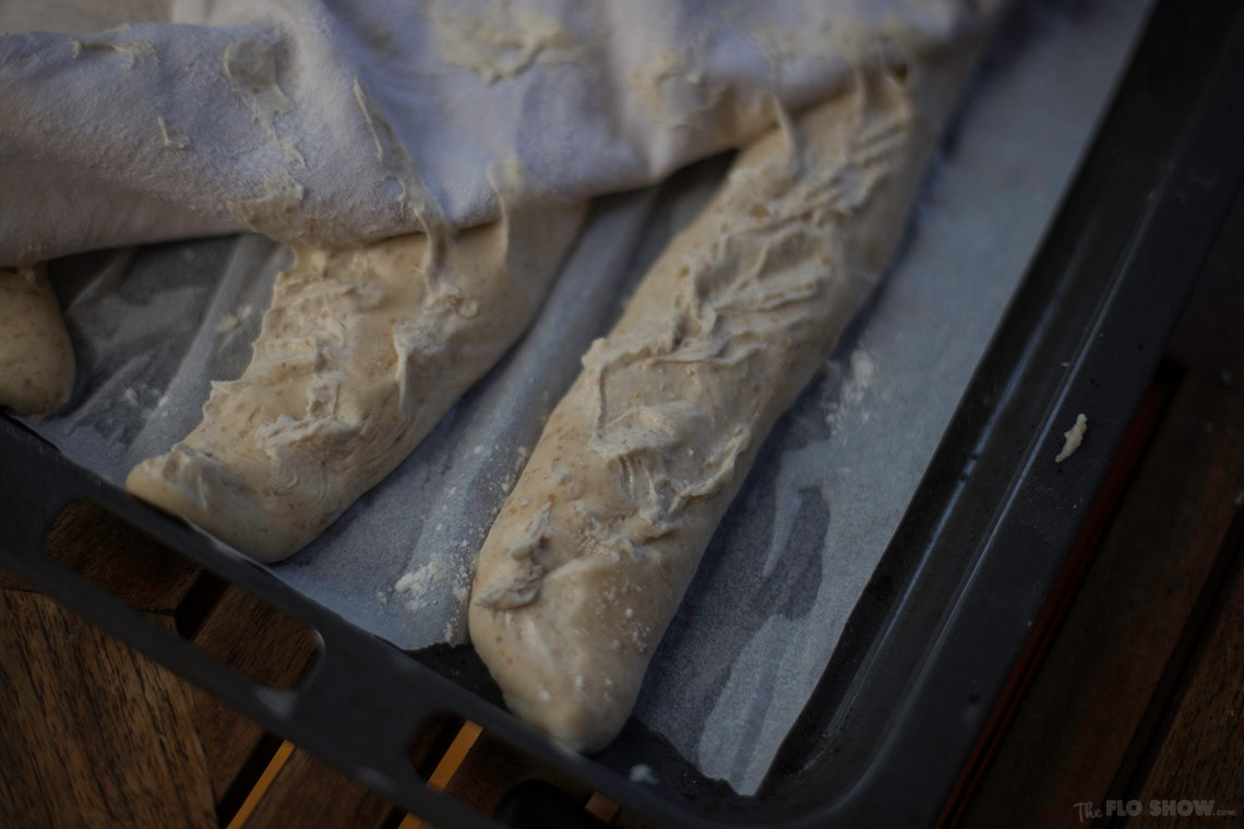 Epic Failure - how to massacre baguettes with a wet towel on www.TheFloShow.com