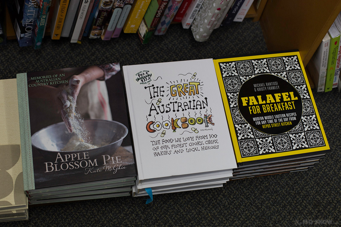Gleebooks a fantastic cookbook collection in Glebe - local cookbooks on www.TheFloShow.com