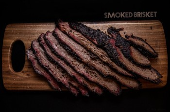 Smoked Brisket using the snake method on www.TheFloShow.com