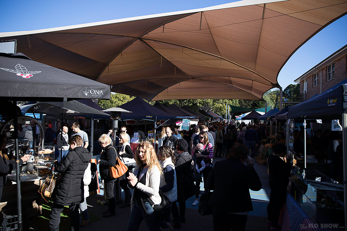 {market review} Ramsgate Foodie Market - A very successful Sydney market on www.TheFloShow.com