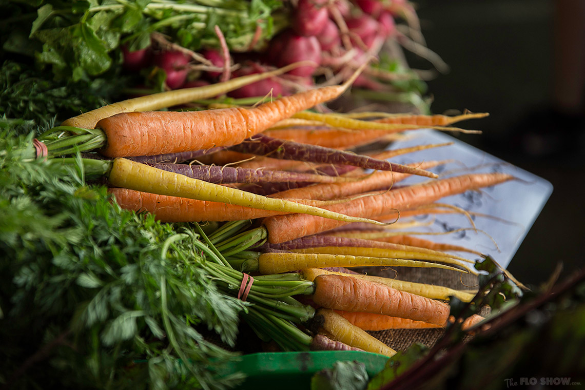 {market review} Ramsgate Foodie Market - Fresh carrots on www.TheFloShow.com