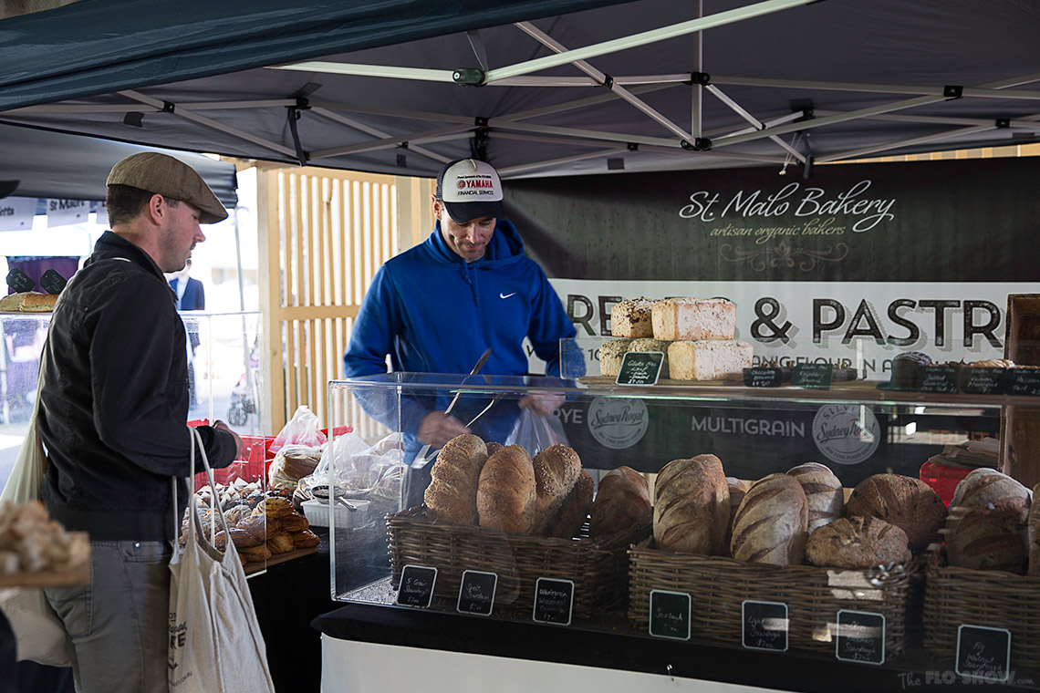 {market review} Ramsgate Foodie Market - Freshly baked sourdough bread by St Malo Bakery on www.TheFloShow.com
