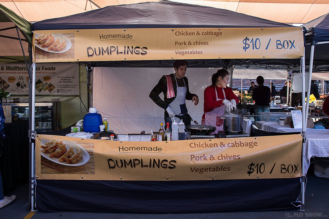 {market review} Ramsgate Foodie Market - Homemade  dumplings on www.TheFloShow.com
