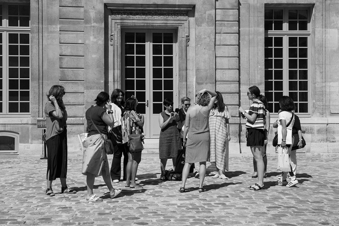 the schools paris excursion with megan morton group at picasso museum