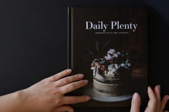 the daily plenty cookbook on www.thefloshow.com