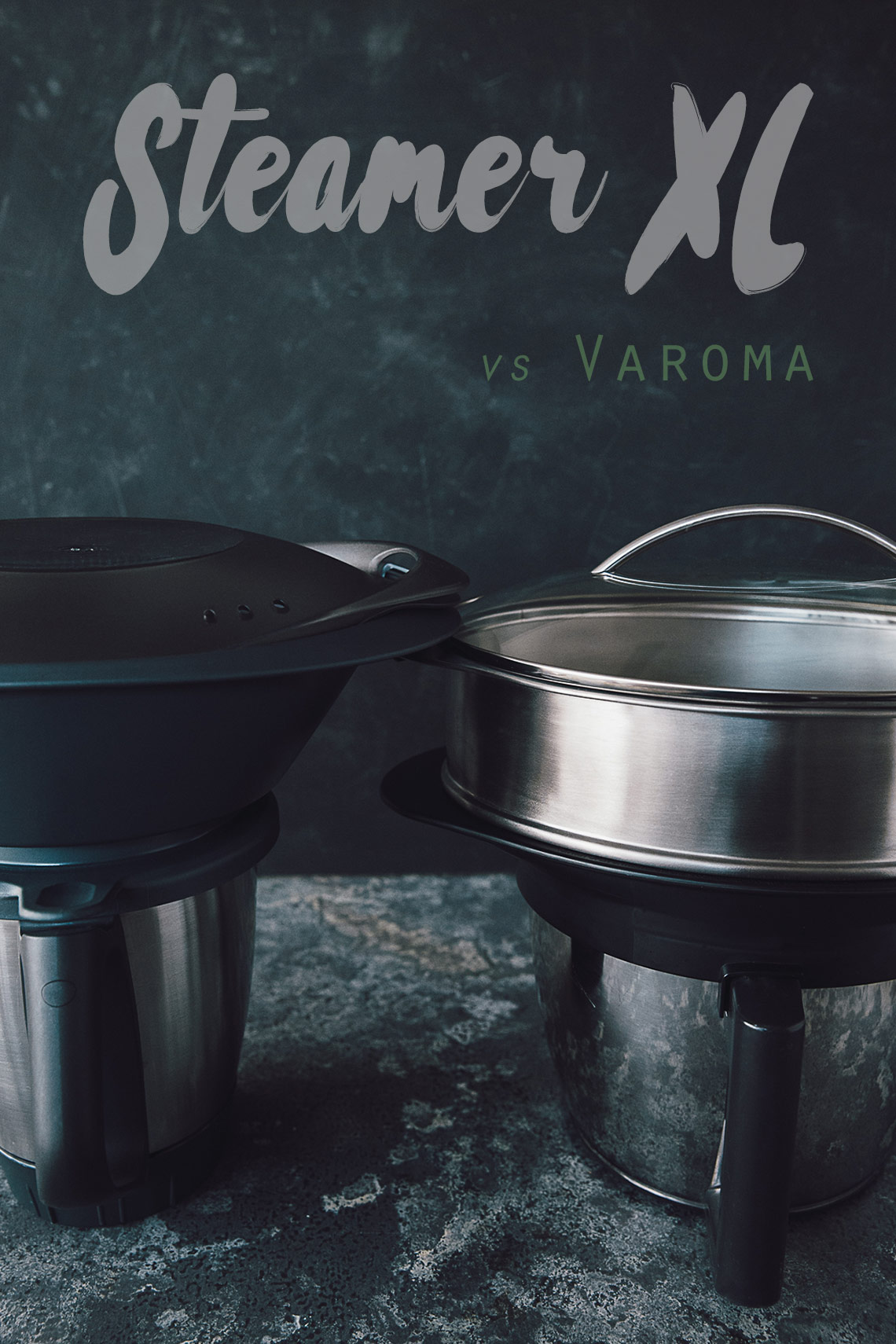 magimix steamer xl vs thermomix varoma the flo. Black Bedroom Furniture Sets. Home Design Ideas