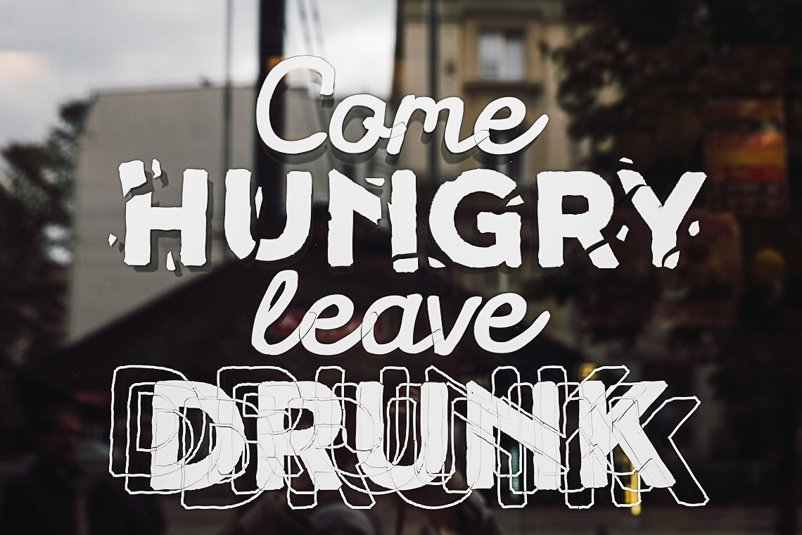 Visit Warsaw - Come hungry leave drunk - on the www.FloShow.com