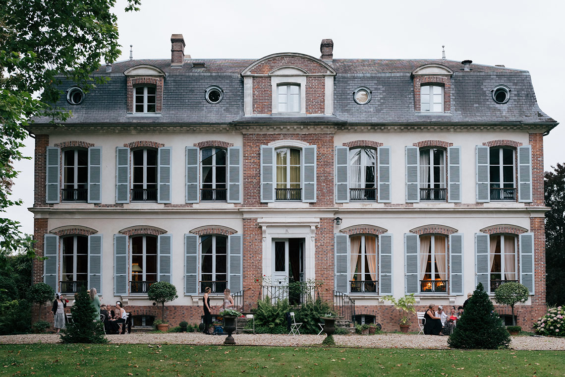 France with the Flo Show - Burgundy workshop - Facing the house