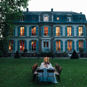 France with the Flo Show - Burgundy workshop - The Candle light dinner