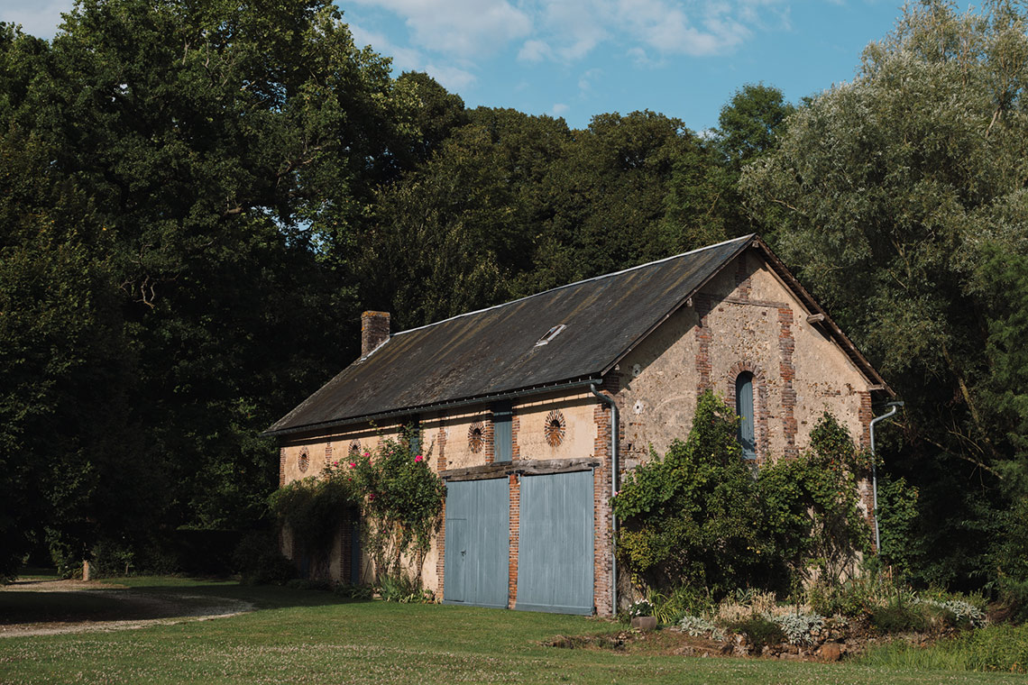 France with the Flo Show - Burgundy workshop - The barns
