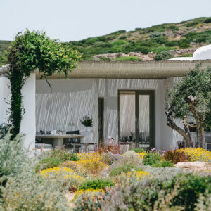 France with the Flo Show - Paros workshop - the houses