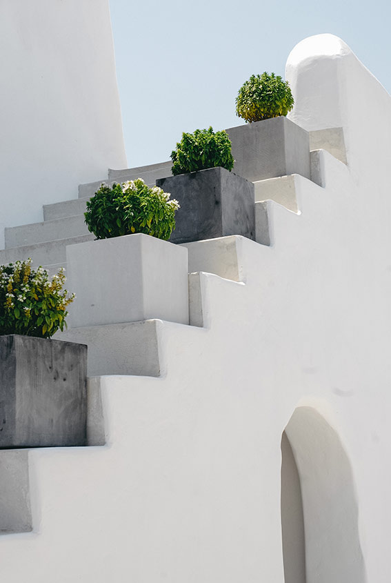 France with the Flo Show - Paros workshop - the staircase