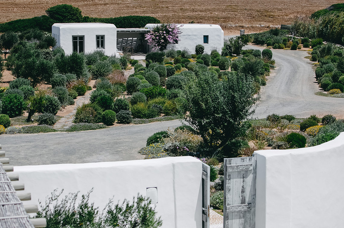 France with the Flo Show - Paros workshop - villa by the beach